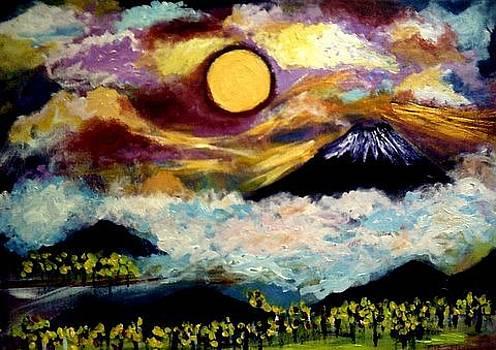 Mount Fugi by Ted Hebbler