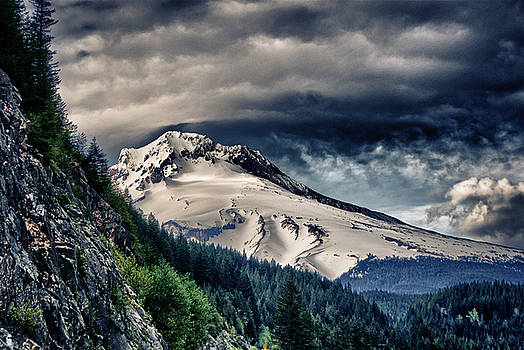 Mount Hood Dynamic by John Winner