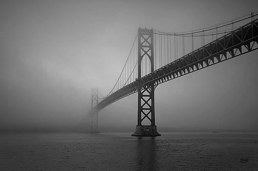 David Gordon - Mount Hope Bridge BW