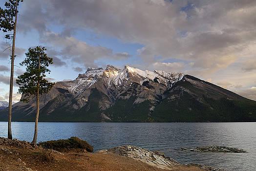 Reimar Gaertner - Mount Inglismaldie Girouard and Peechee from Lake Minnewanka Ban