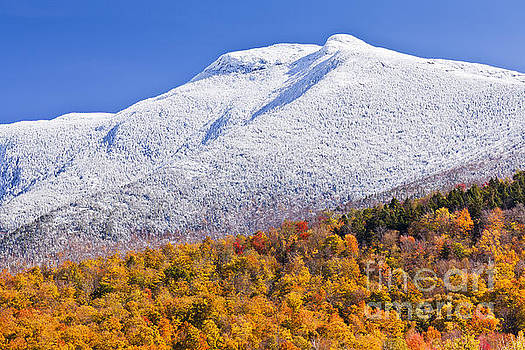 Mount Mansfield October Snow by Alan L Graham