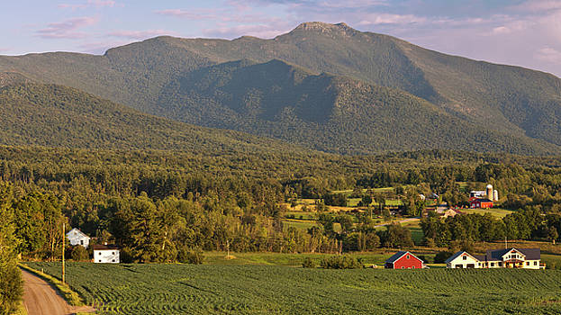 Mount Mansfield Summer Evening by Alan L Graham
