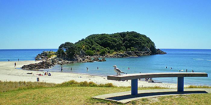 Mount Maunganui Beach 4 - Tauranga New Zealand by Selena Boron