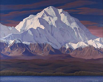 Mount Mckinley  by Glen Heberling