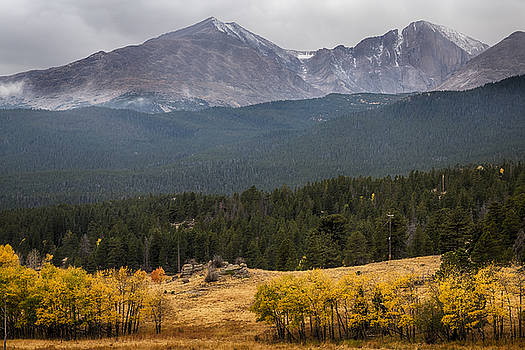 James BO  Insogna - Mount Meeker and Longs Peak Autumn Scenic View