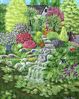 Mount Pleasant Gardens - Cheshire by Ronald Haber