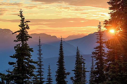 Mount Revelstoke by Christian Heeb