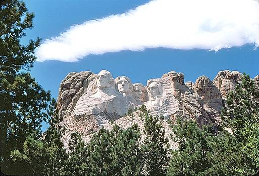 Mount Rushmore 2 by John Foote