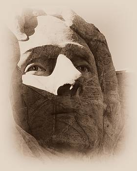 Barbara Henry - Mount Rushmore Faces Jefferson
