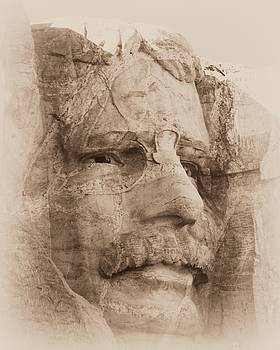 Barbara Henry - Mount Rushmore Faces Roosevelt