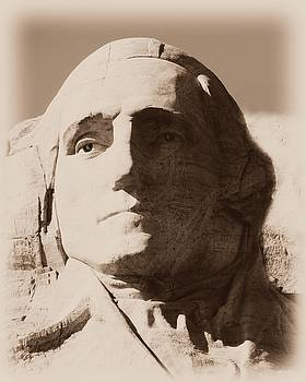 Barbara Henry - Mount Rushmore Faces Washington