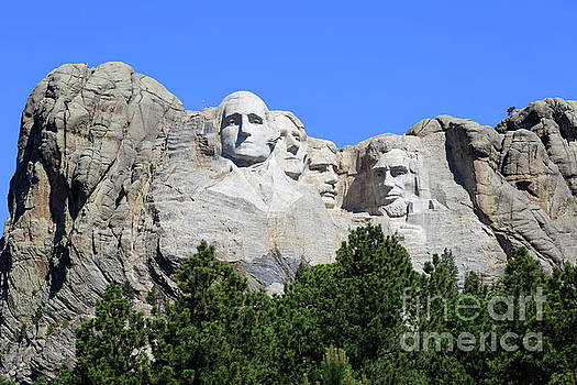 Mount Rushmore by Louise Heusinkveld