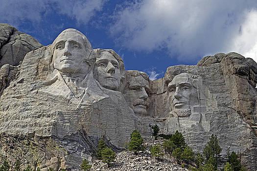 Mount Rushmore National Memorial by David Hintz