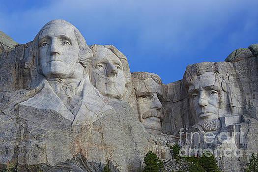 Mount Rushmore National Memorial by Steve Boice
