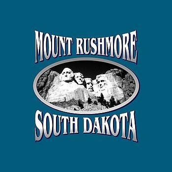 Art America Gallery Peter Potter - Mount Rushmore South Dakota Design