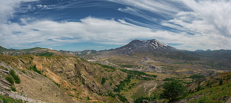 Mount Saint Helens Volcano Washington by Kimberly Blom-Roemer