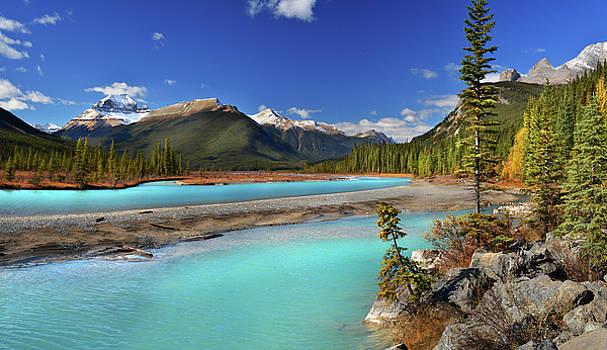 Mount Saskatchewan by John Poon
