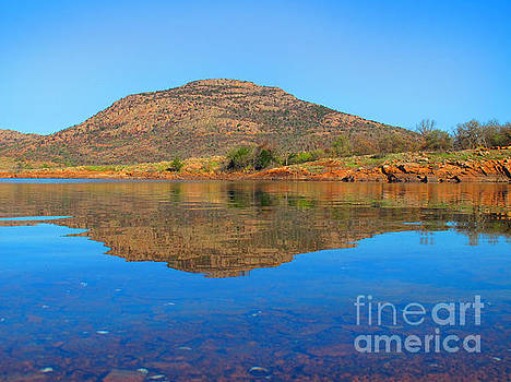 Mount Scott Reflection by DS Dodd