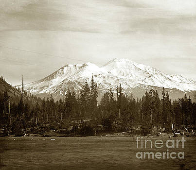 California Views Mr Pat Hathaway Archives - Mount Shasta with snow Circa 1910