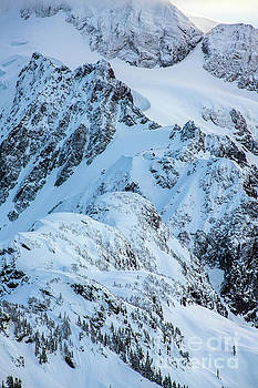 Mount Shuksan Details by Mike Reid