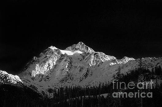 Paul Conrad - Mount Shuksan in Black and White