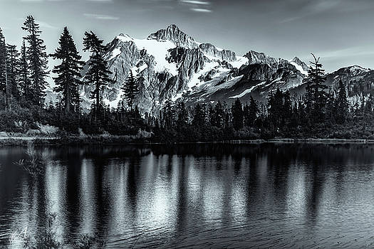 Mount Shuksan by Thomas Ashcraft