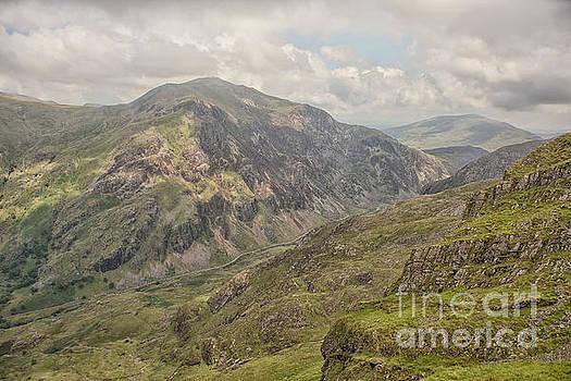 Patricia Hofmeester - Mount Snowdon landscape