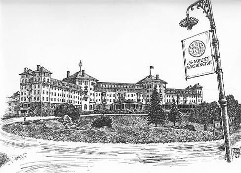 Mount Washington Hotel Number One by Dan Moran