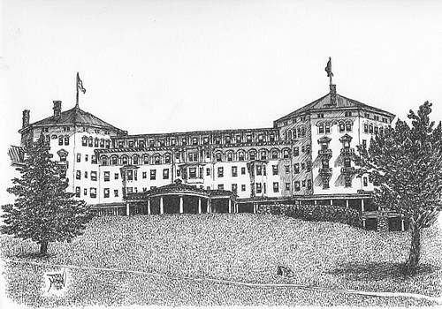 Mount Washington Hotel Number Three by Dan Moran