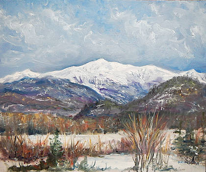 Mount Washington In March by Jessica Fligg