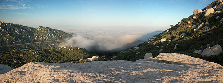 Mount Woodson Foggy Valley by William Dunigan