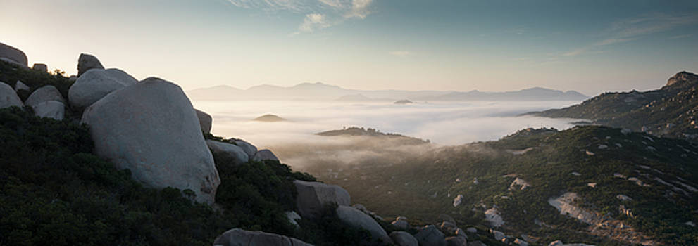 Mount Woodson Lookout by William Dunigan