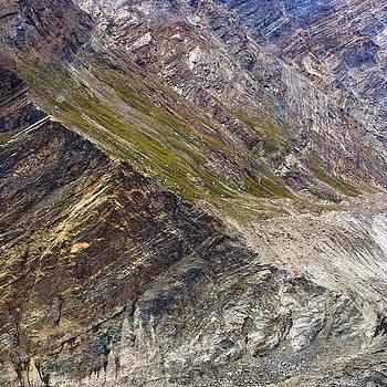 Mountain abstract 1 by Hitendra SINKAR