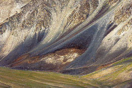 Mountain abstract 2 by Hitendra SINKAR