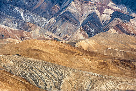 Mountain abstract 4 by Hitendra SINKAR