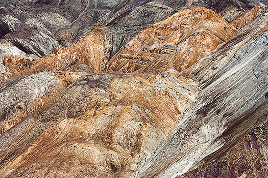 Mountain abstract 7 by Hitendra SINKAR