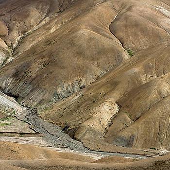 Mountain abstract 8 by Hitendra SINKAR