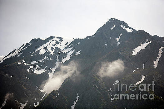 Mountain Alaska A by Chuck Kuhn