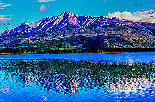 Mountain and Lake _19a by Doug Berry