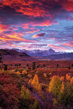 Mountain Autumn Sunrise by Andrew Soundarajan