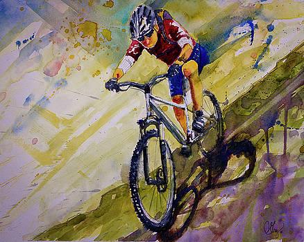 Mountain Biking  by Gray Artus