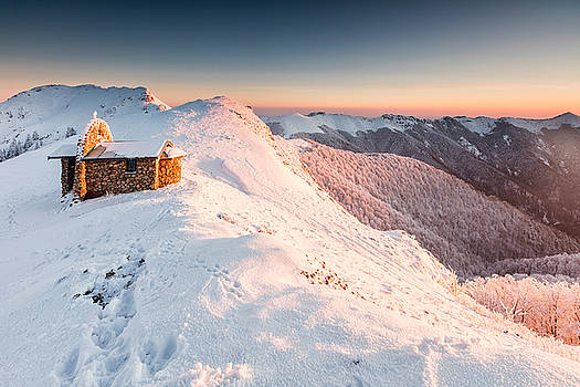 Mountain Chapel by Evgeni Dinev