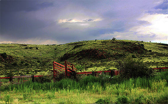 Mountain Corral by Suzan Madison Casey