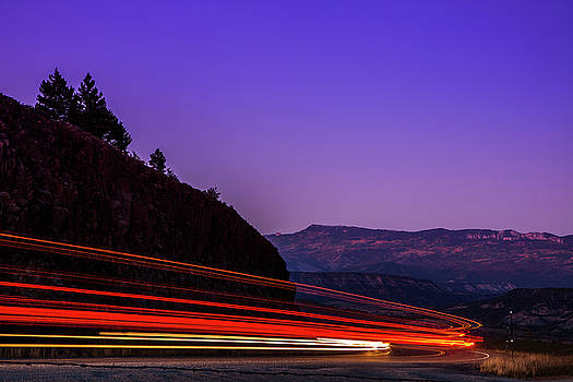 Mountain Driving by Andrew Soundarajan
