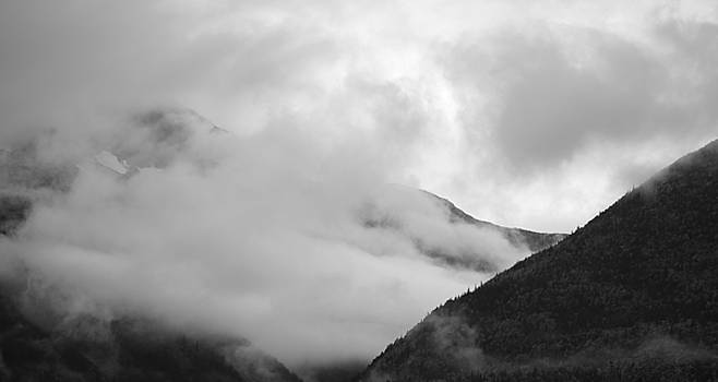 Mountain Fog #2 by Kimberly VanNostrand