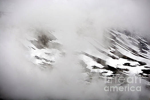 Mountain Fog - Alaska by Lorenzo Cassina