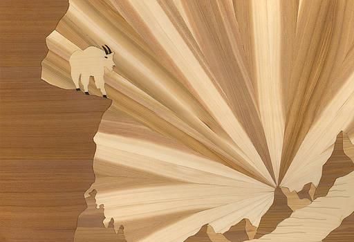 Mountain Goat by Glen Stanley