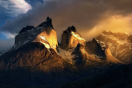 Mountain Golden Glow by Nicki Frates