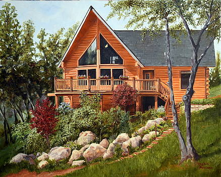 Mountain Home by Mary Beth Harrison