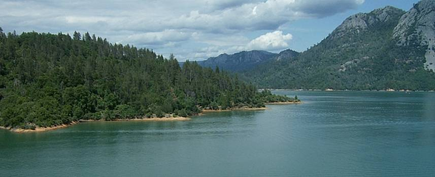 Mountain lake 1 CA by Linda Meyer